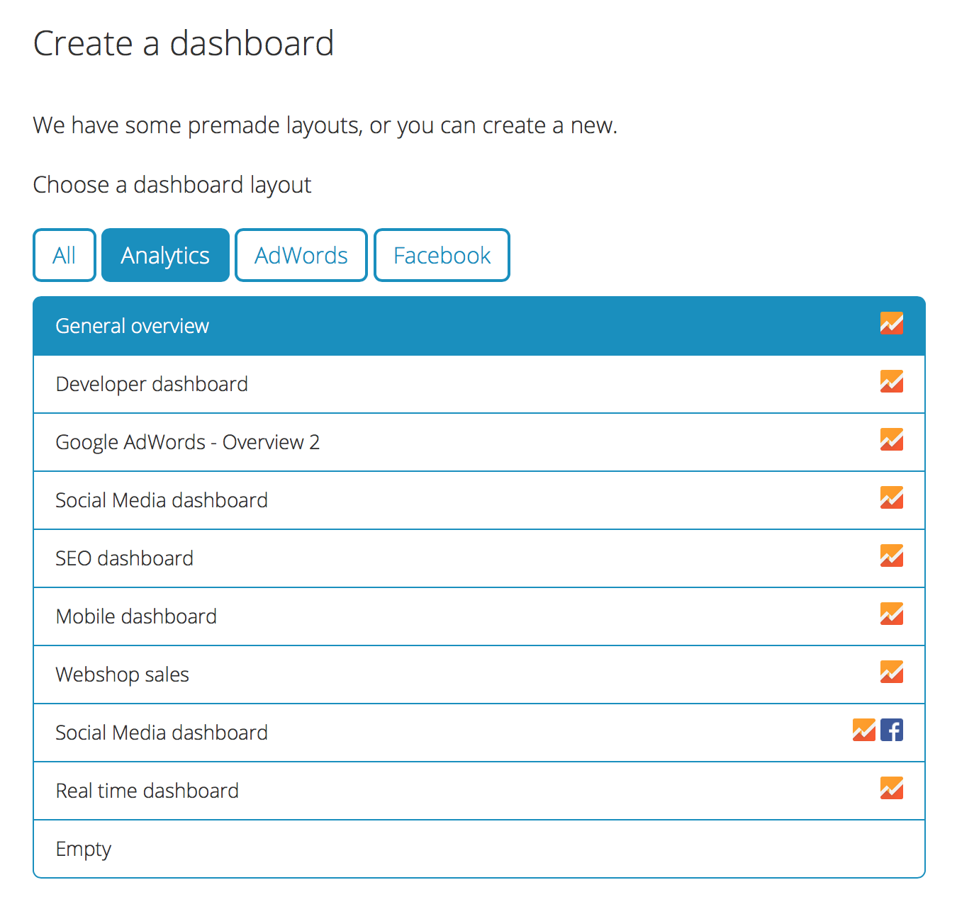 Mimer Metrics dashboard