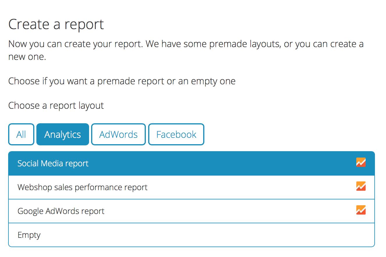 Mimer Metrics reports
